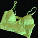 Victoria's Secret Beach Sexy Long Line Strappy Triangle Bikini Top Padded S