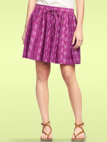 Gap Ikat Drawstring Skirt Pink 10 Purple NWT $59.95