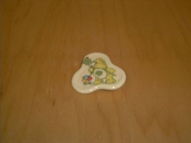 """CARE BEARS Ceramic Pin~Vintage Approx. 2"""""""