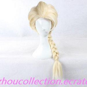 Frozen Princess Elsa Light Golden Cosplay Wig(FREE SHIPPING)