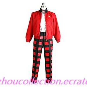 Uta no Prince Ren Jinguuji Red Cosplay Costume  (FREE SHIPPING)