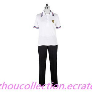 Uta no Prince Syo Kurusu Black & White Cosplay Costume (FREE SHIPPING)
