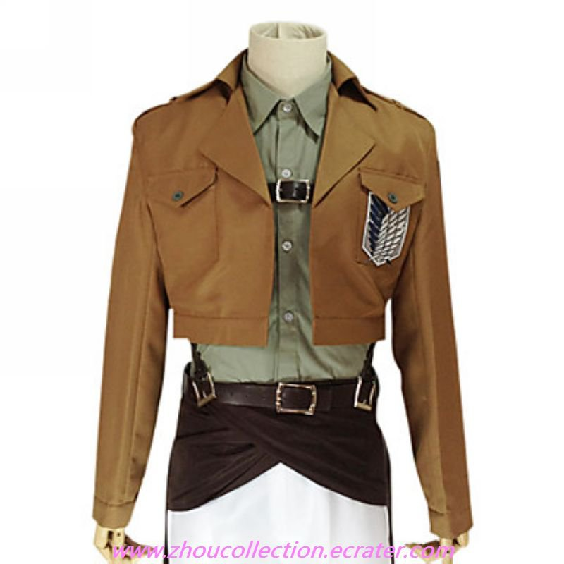 Attack on Titan Jean Kirstein  Survey Corps Uniform(FREE SHIPPING)