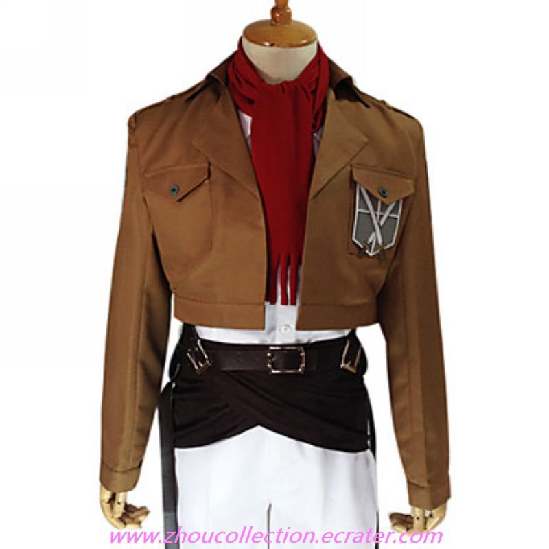 Attack on Titan Mikasa Ackerman  Training Corp  Uniform(FREE SHIPPING)