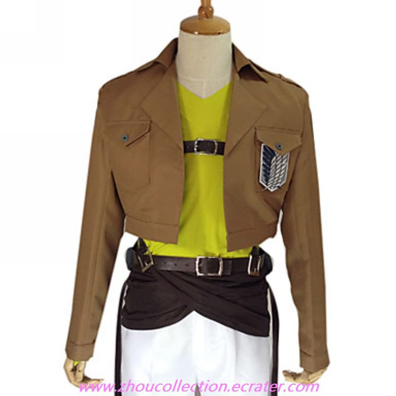 Attack on Titan Connie Springer  Survey Corps  Uniform(FREE SHIPPING)