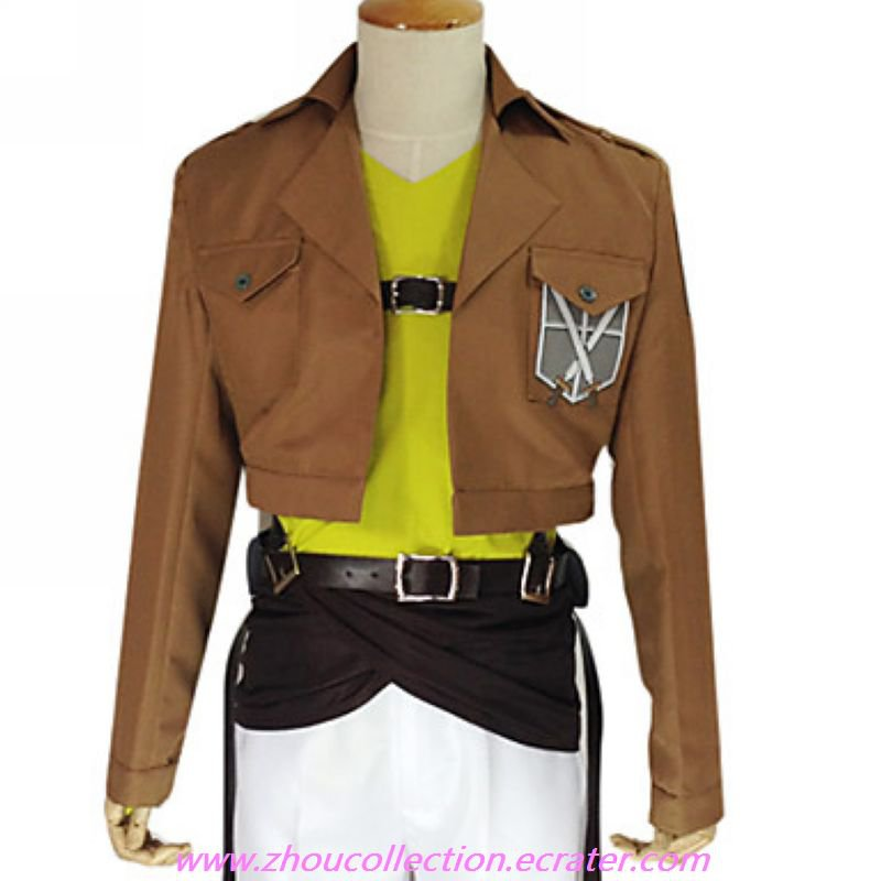 Attack on Titan Connie Springer  Training Corps  Uniform(FREE SHIPPING)