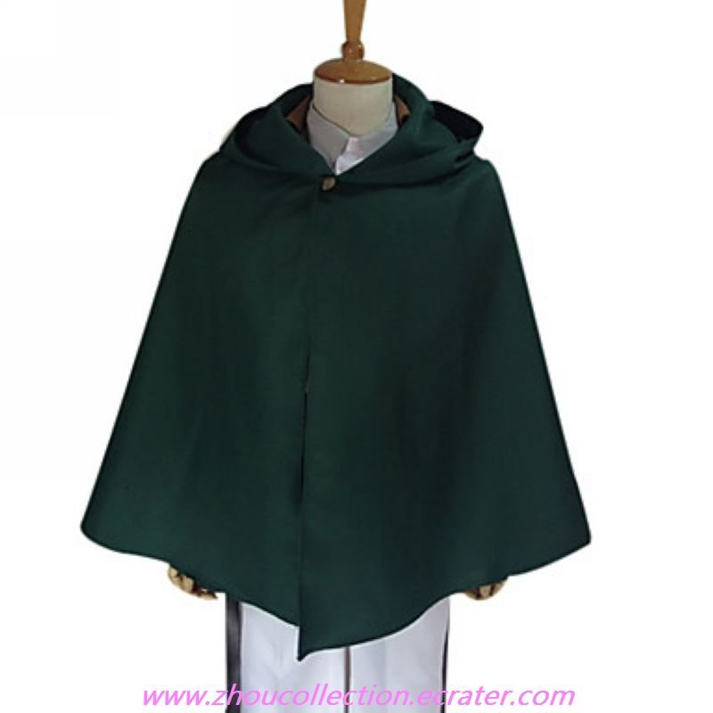 Attack on Titan Levy The Survey Corps Special Operations Squad Uniform with Cape(FREE SHIPPING)