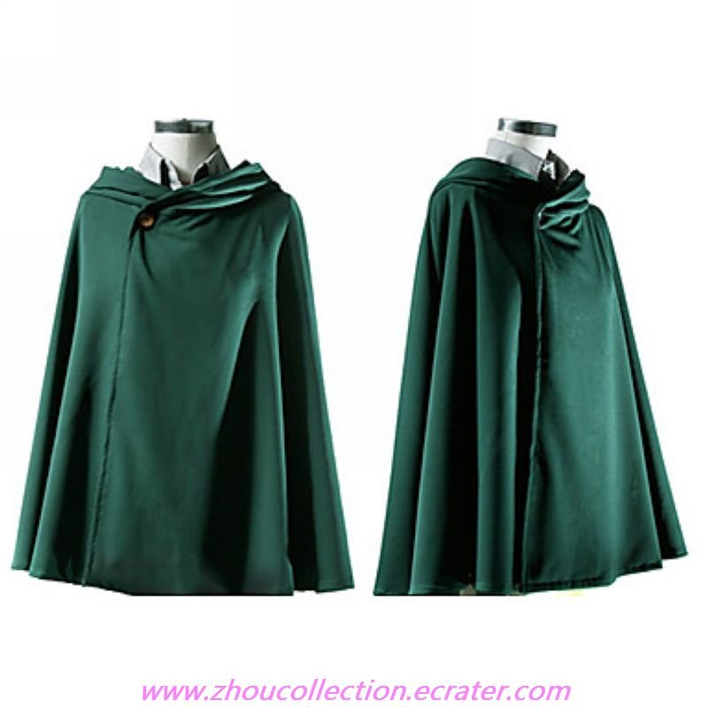 Attack on Titan Scouting Legion Cloak Cape Cosplay Costume(FREE SHIPPING)