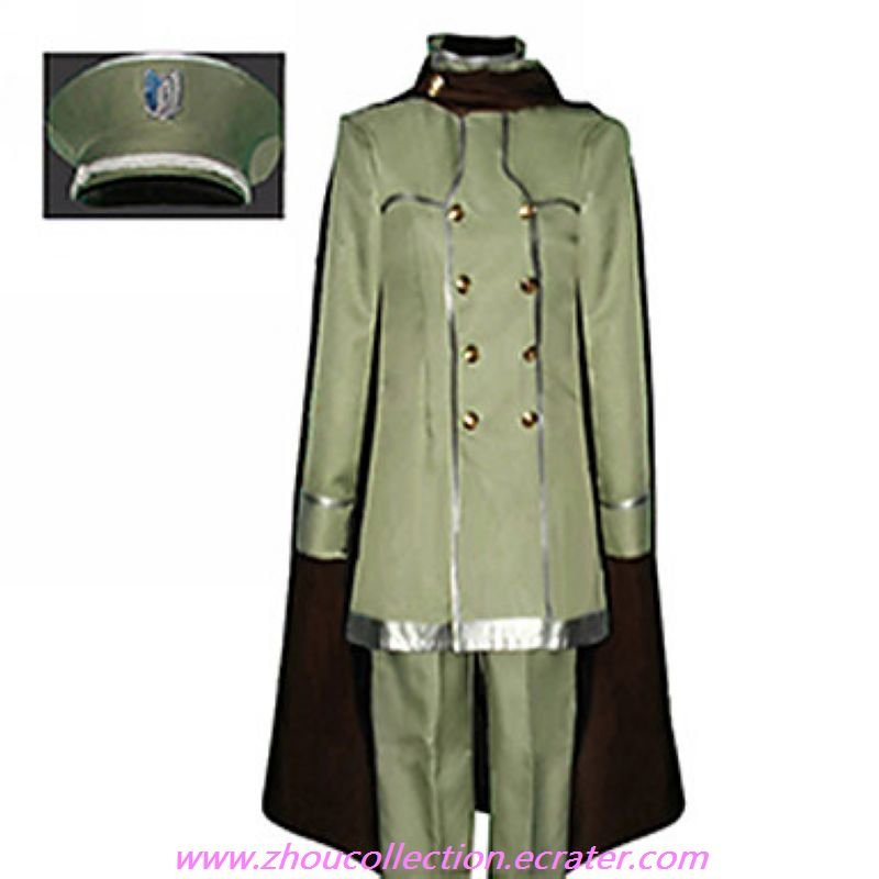 Attack on Titan Wings of Counterattack Online Armin Arlert Cosplay Costume(FREE SHIPPING)