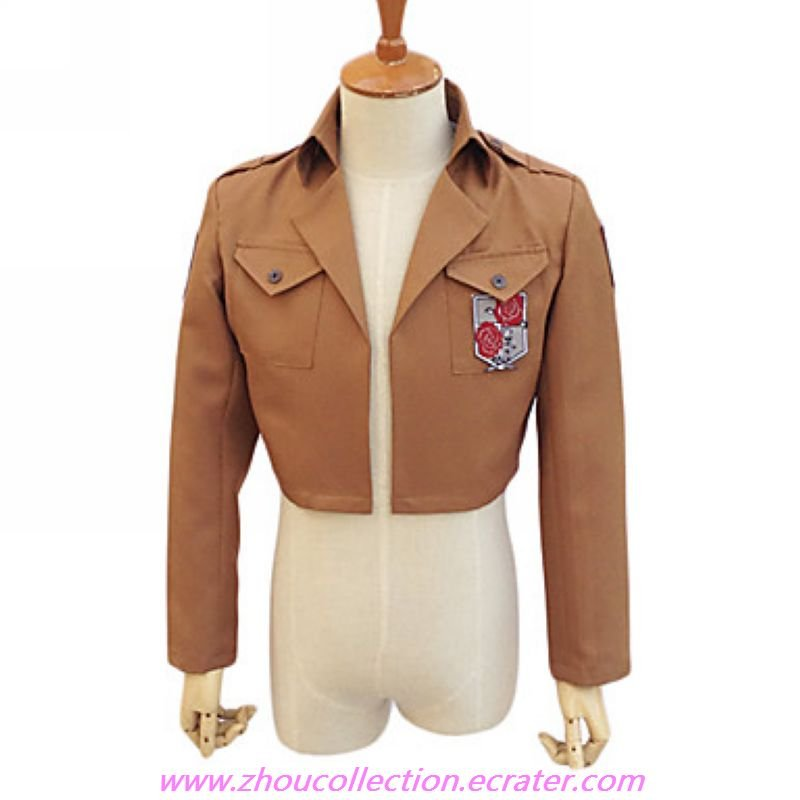 Attack on Titan Stationary Guard Cosplay Costume Jacket(FREE SHIPPING)