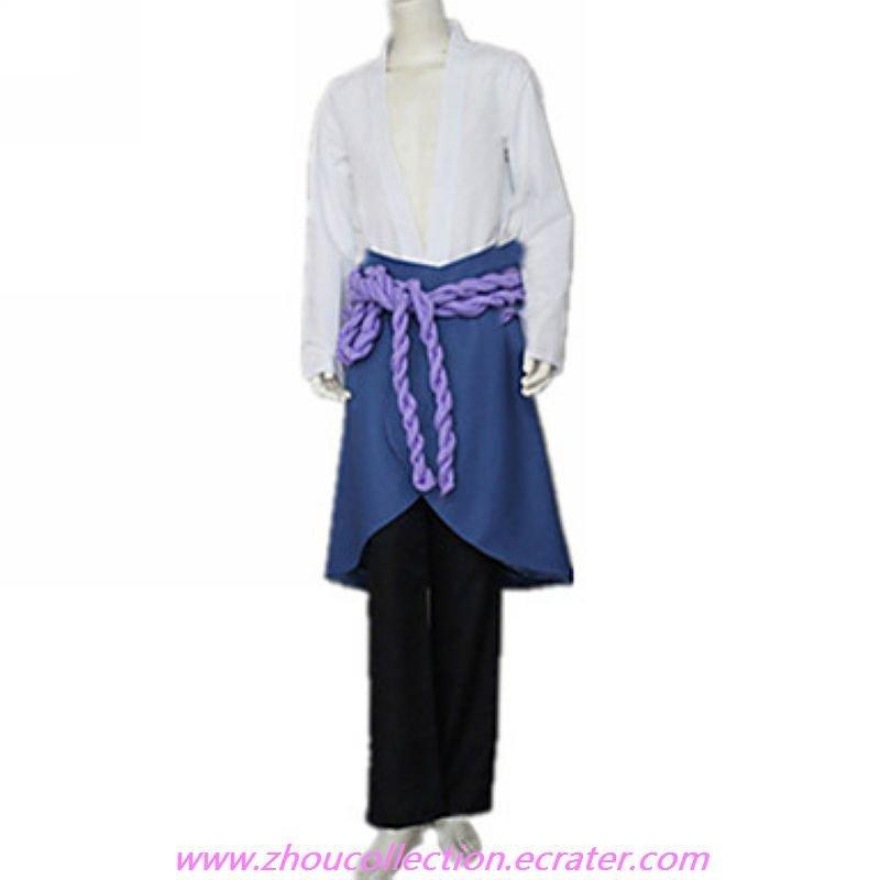 Shippuden Sasuke Uchiha Cosplay Costume (FREE SHIPPING)
