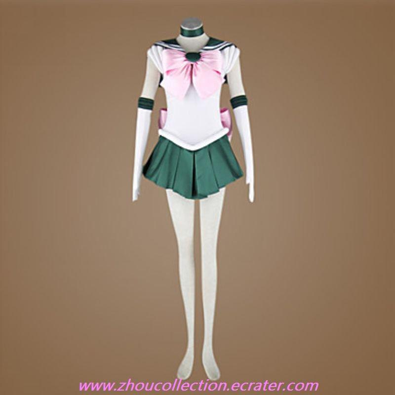 Makoto Kino Sailor Jupiter Cosplay Costume (FREE SHIPPING)