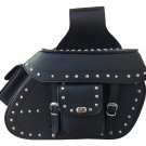 Large Studded Harley Motorcycle Throw Over Saddle Bags