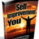 Self Improvement You  eBook PDF
