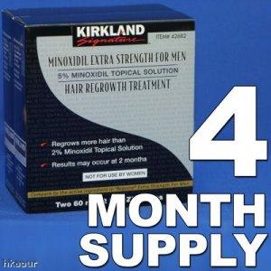 Kirkland Minoxidil 5% - 4 Month Supply