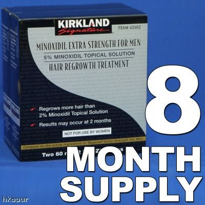 Kirkland Minoxidil 5% - 8 Month Supply
