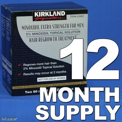 Kirkland Minoxidil 5% - 12 Month Supply