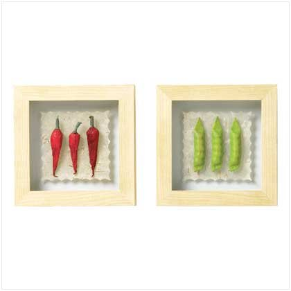 Veggie Garden Shadowbox Set