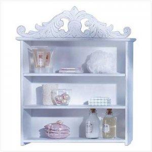 Crowned Keepsake Shelf