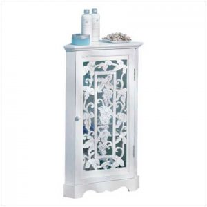 Grapevine Detail Corner Cabinet