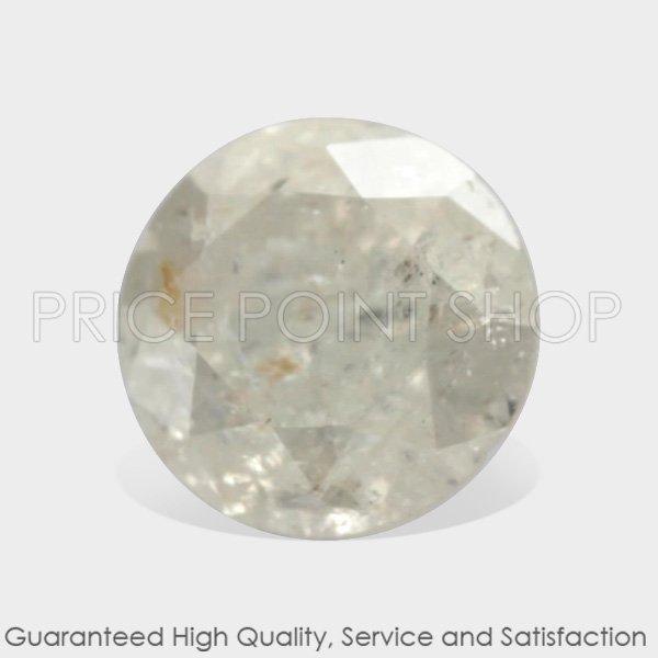 0.10 ctw, 2.72 mm Size, J White Color, I3 Clarity, Round Brilliant Loose Diamonds