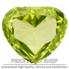 0.18 ctw, 4.37 x 3.85 mm, Lime Yellow, VVS1 Clarity, Heart Shape Loose Diamonds