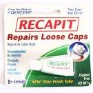 RECAPIT REPAIRS LOOSE TOOTH CAPS & CROWNS X8+ PER PACK