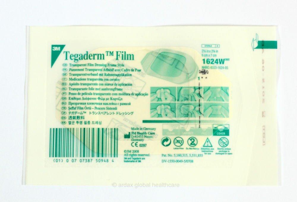 TEGADERM FILM 10CM X 12CM CLEAR DRESSING 3M TATTOO X 10