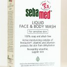 SEBAMED LIQUID FACE/BODY WASH SOAP-FREE SENSITIVE 200ML