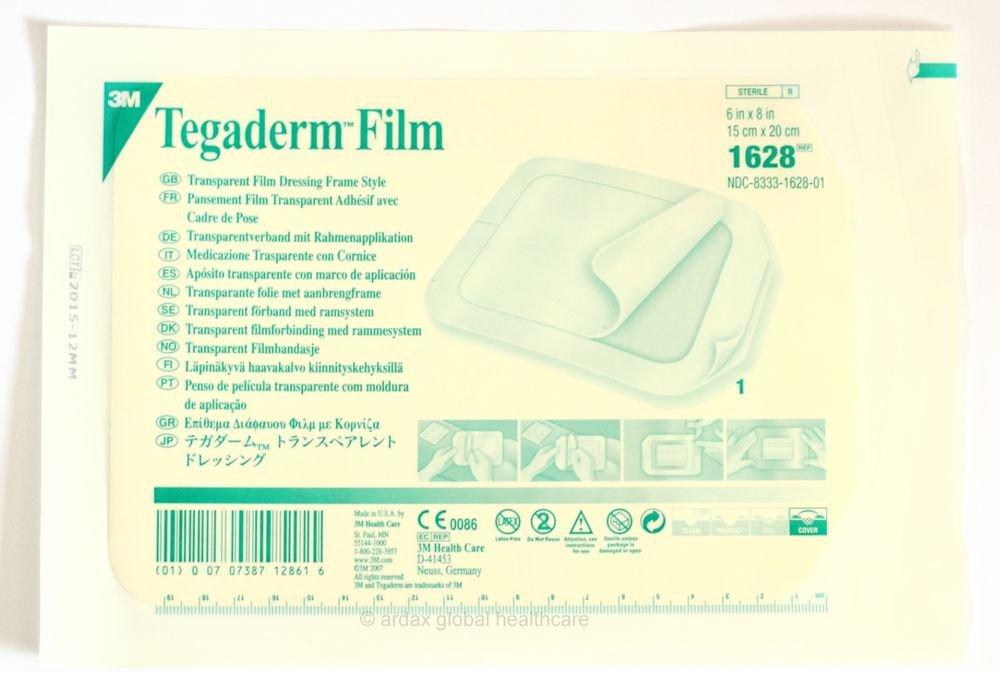 TEGADERM FILM 15CM X 20CM CLEAR DRESSING 3M TATTOO X 1