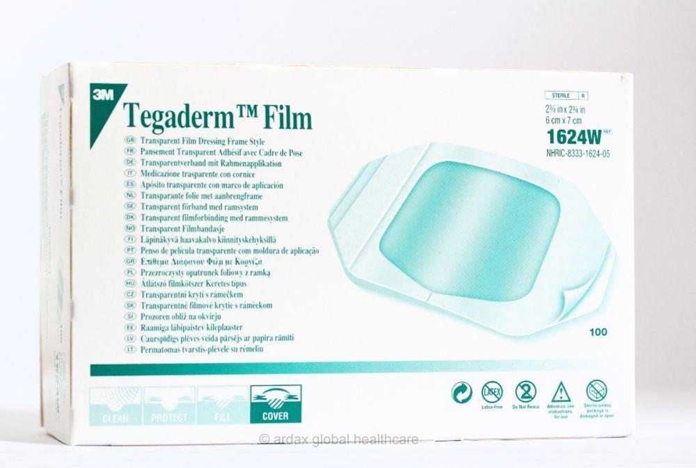 Tegaderm Film 6 Cm X 7cm Dressing 3m Tattoo 1 Box 100