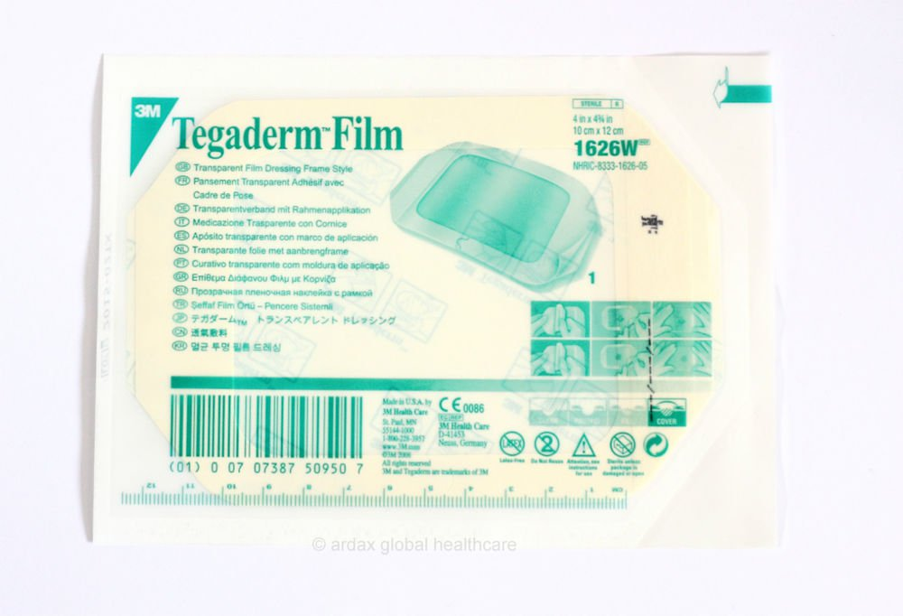 Tegaderm Film 10cm X 12cm Clear Dressing 3m Tattoo X 2