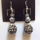 Dark Crystal Earrings
