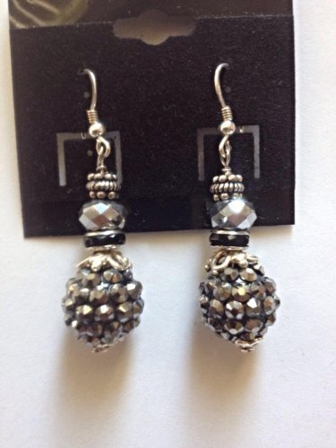 Dark Crystal Earrings