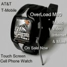 5PC Lot Overload M80 Unlocked Touch Screen Watch Cell Phone
