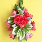 Ladies pink Carnation pin corsage