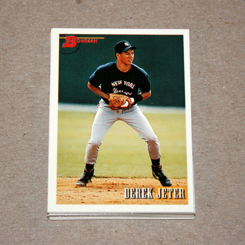 1993 BOWMAN BASEBALL - New York Yankees Team Set