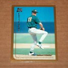 1999 TOPPS BASEBALL - Oakland Athletics Team Set (Traded/Rookies Series Only)