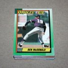 1990 TOPPS BASEBALL - Baltimore Orioles Team Set