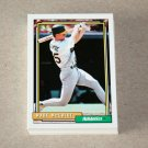 1992 TOPPS BASEBALL - Oakland Athletics Team Set