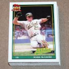1991 TOPPS BASEBALL - Oakland Athletics Team Set + Traded Series