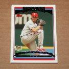 2006 TOPPS BASEBALL - Philadelphia Phillies Team Set (Updates & Highlights Only)