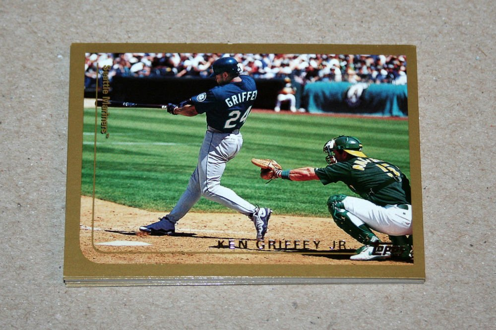 1999 TOPPS BASEBALL - Seattle Mariners True Team Set with Traded Series