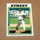 2005 TOPPS BASEBALL - Oakland Athletics Team Set (Updates & Highlights Only)