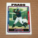 2005 TOPPS BASEBALL - Atlanta Braves Team Set (Updates & Highlights Only)