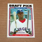 2005 TOPPS BASEBALL - Texas Rangers Team Set (Updates & Highlights Only)