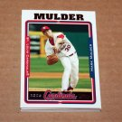 2005 TOPPS BASEBALL - St. Louis Cardinals Team Set (Updates & Highlights Only)