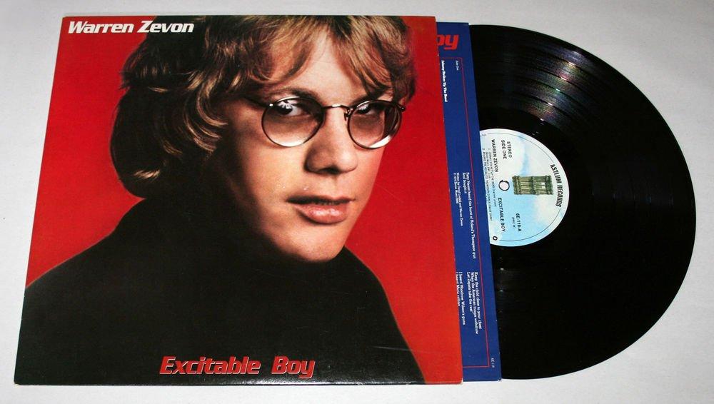 "Warren Zevon ""Excitable Boy"" (6E-118) - Vinyl / LP / NM"