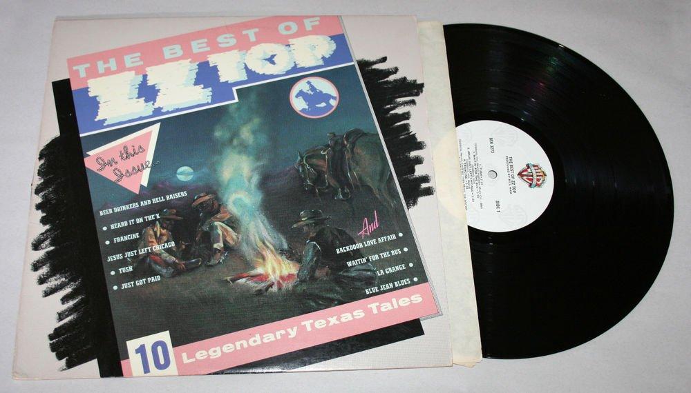 """ZZ Top """"The Best of ZZ Top"""" (BSK 3273) - Vinyl / LP / NM"""