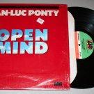 "Jean-Luc Ponty ""Open Mind"" (80185-1) - Vinyl / LP / 1st Pressing / In Shrink"